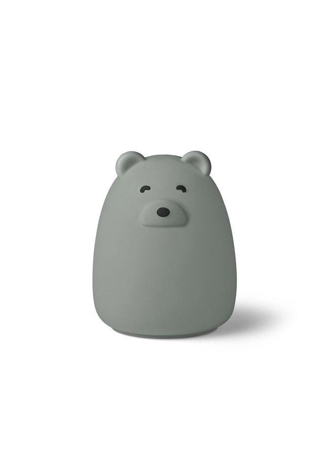 Liewood nachtlampje winston mr. bear dove blue