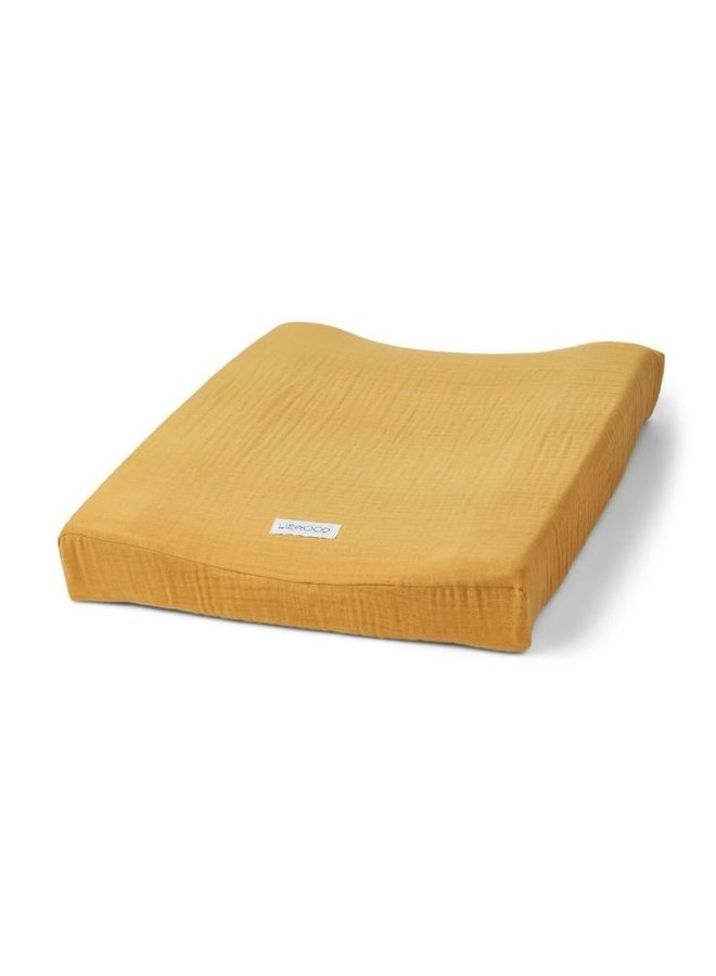 Liewood Cliff muslin changing cover yellow mellow