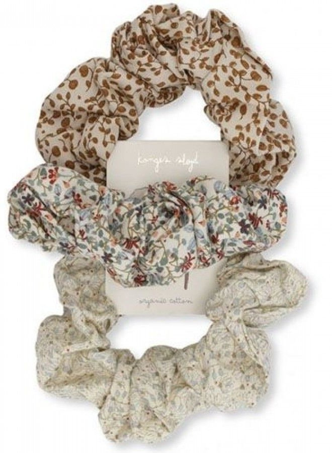 Konges Slojd scrunchies 3 pack