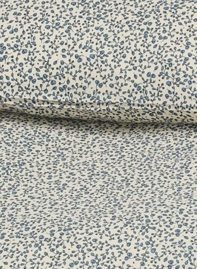 Konges Slojd junior beddengoed blue blossom mist