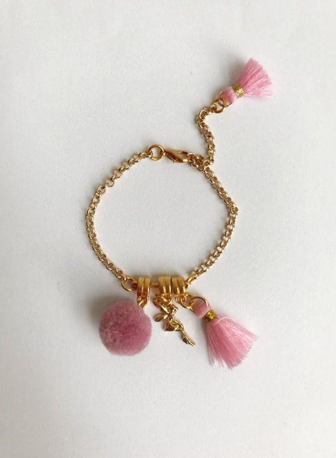 ByMelo armband goud engel