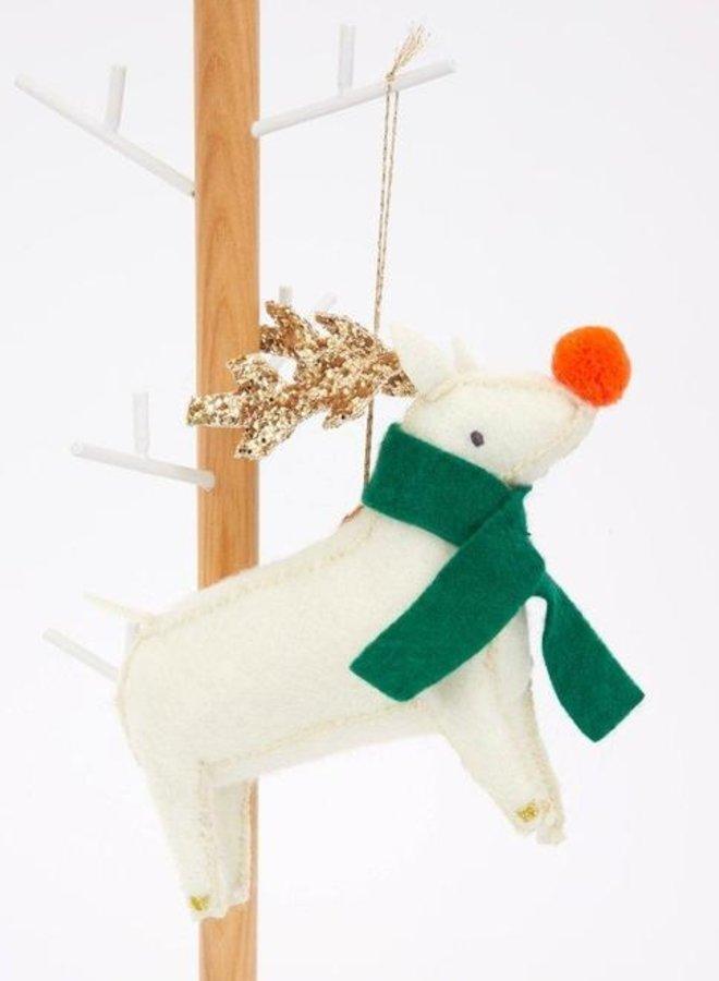Meri Meri reindeer boom decoratie