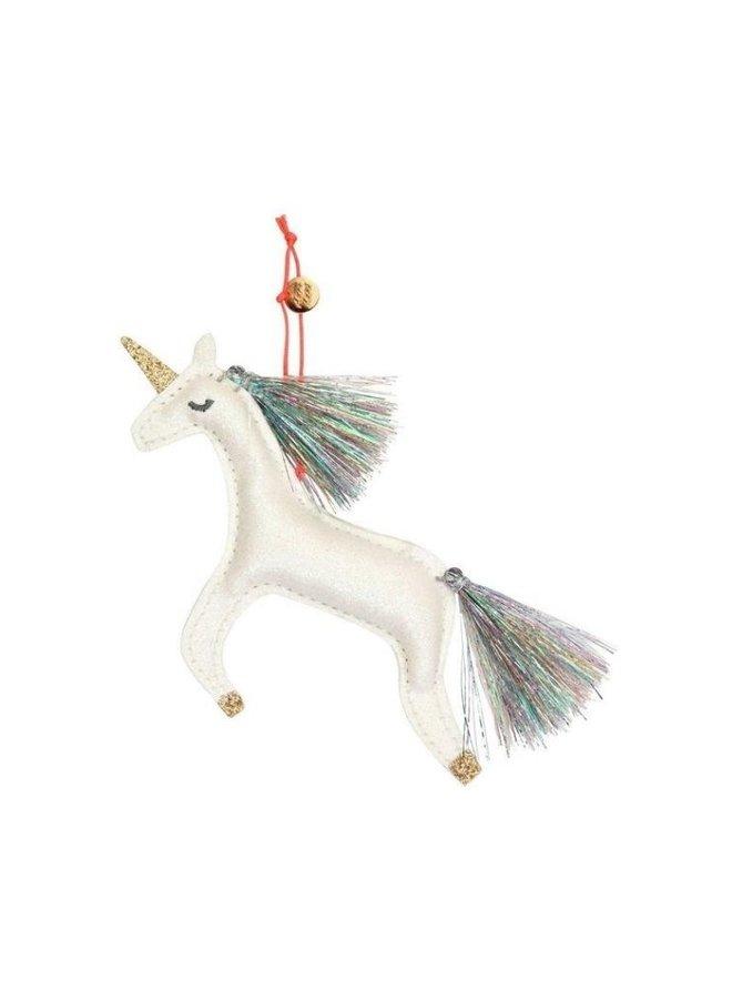 Meri Meri unicorn glitter boom decoratie