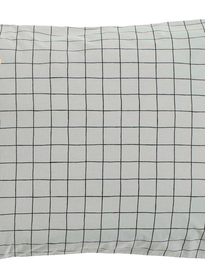 la cerise sur le gateau kussensloop Oscar Brume 50x70