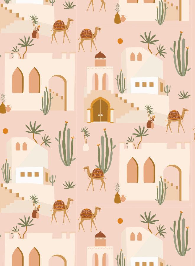 May and Fay Behang Oasis Pink