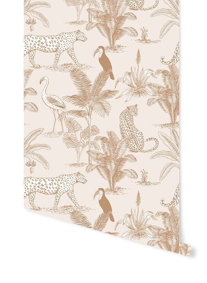 May and Fay Behang Jungle Beige