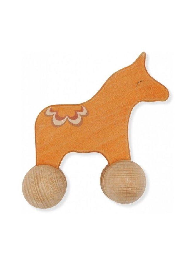 Konges Slojd rolling horse hout