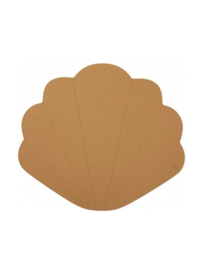 Konges Slojd placemat clam terracotta