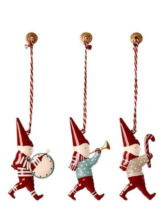 Maileg christmas ornaments in matchbox