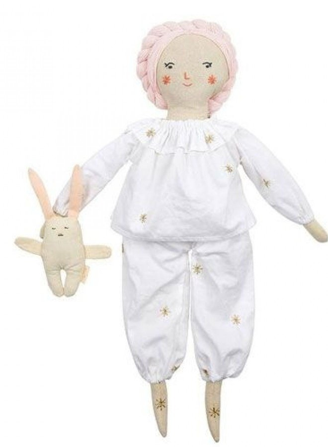 Meri Meri pyjama & bunny dolly dress up