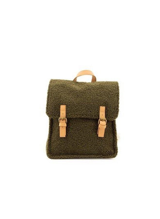 Nanami backpack teddy green