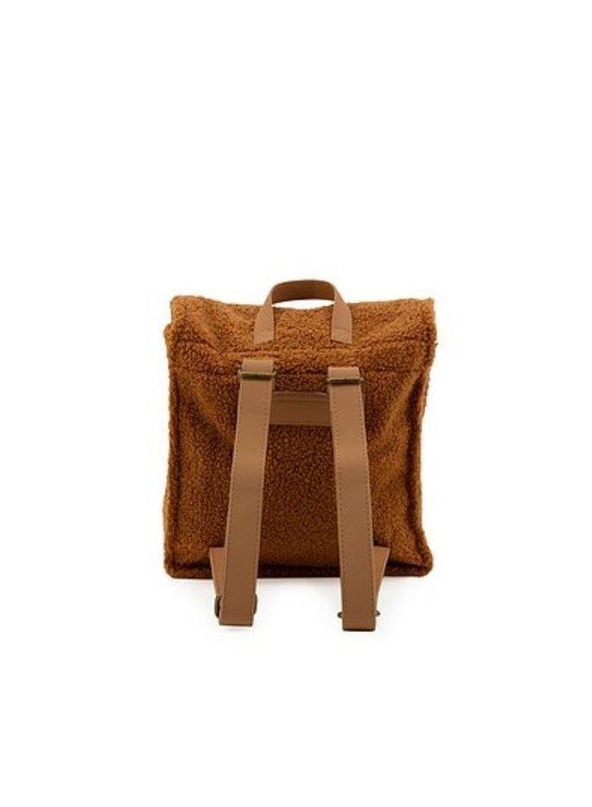 Nanami backpack teddy caramel