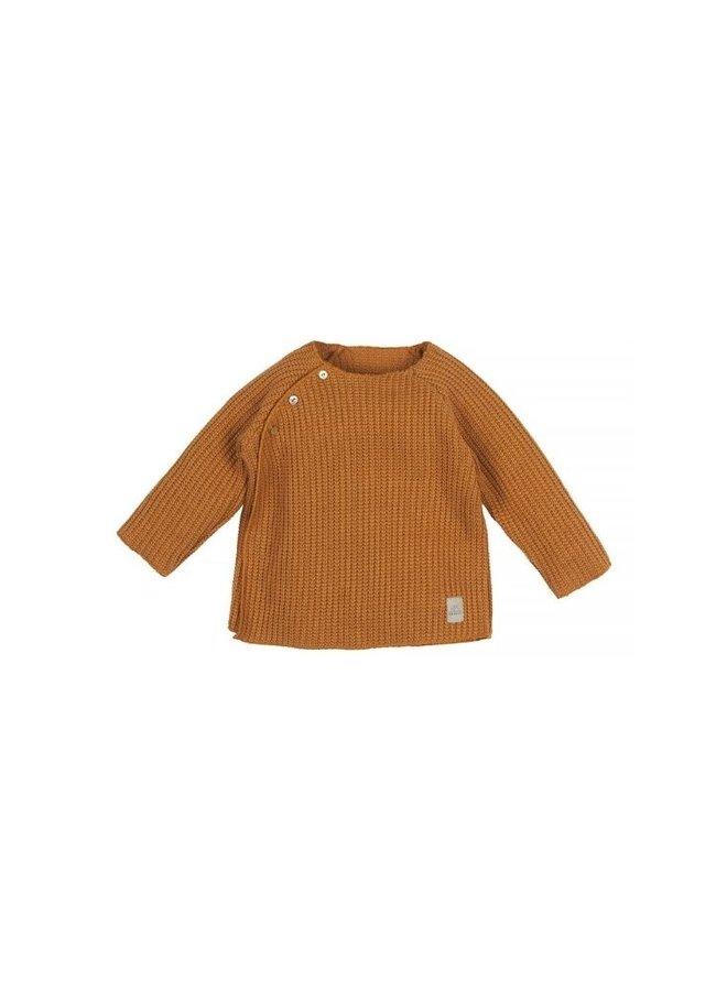Nanami Baby rib top knitted sand