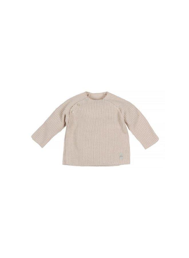Nanami Baby rib top knitted natural
