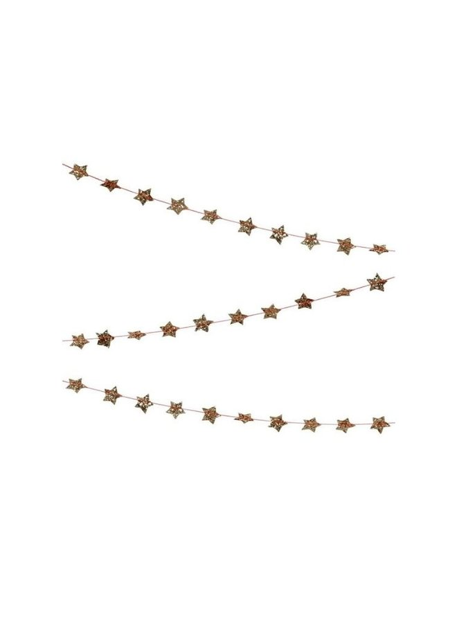 Meri meri vlaggenlijn gouden ster