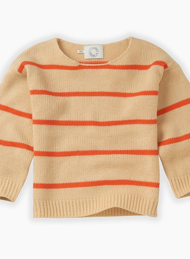 Sproet & Sprout knit sweater stripe