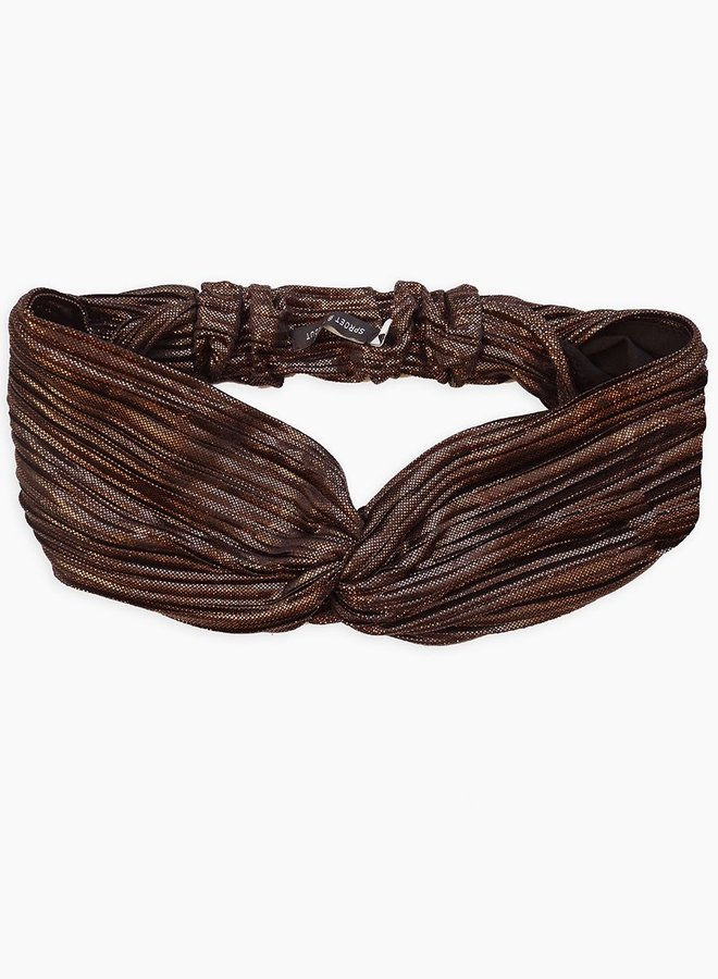 Sproet & Sprout Twisted Headband metallic