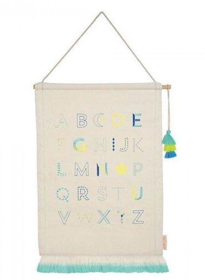 Meri Meri alphabet wall hanging