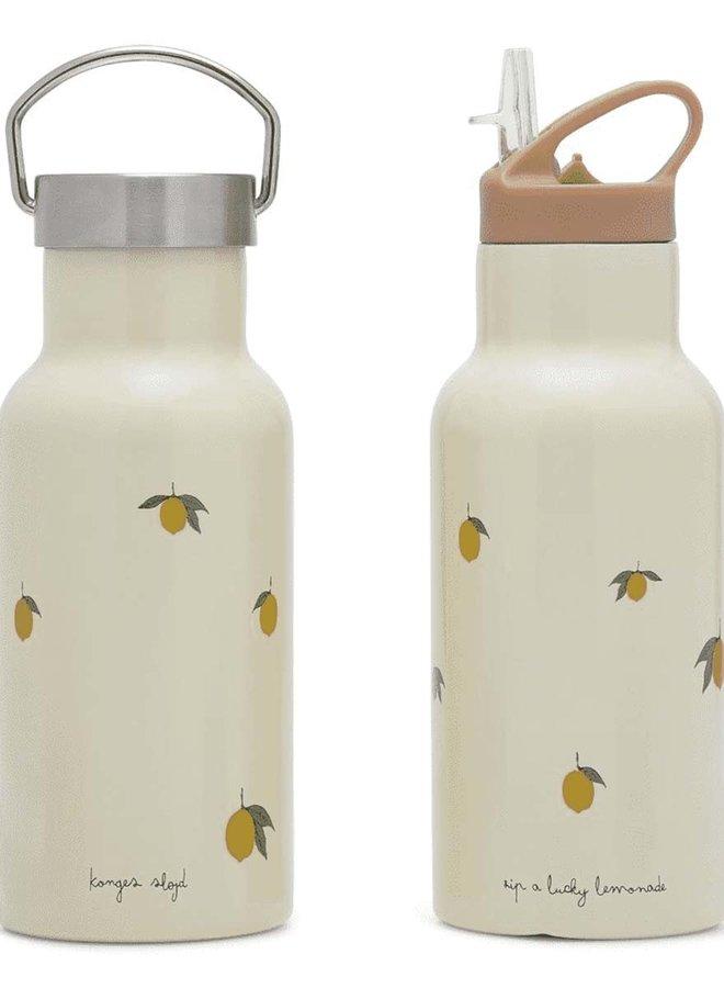 Konges Slojd thermo bottle - lemon