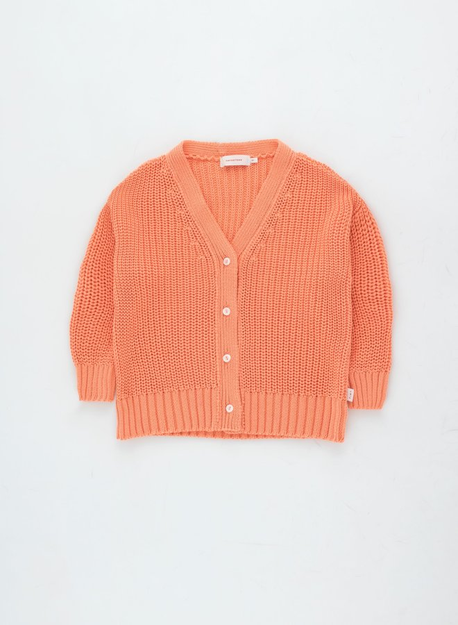 Tinycottons solid cardigan