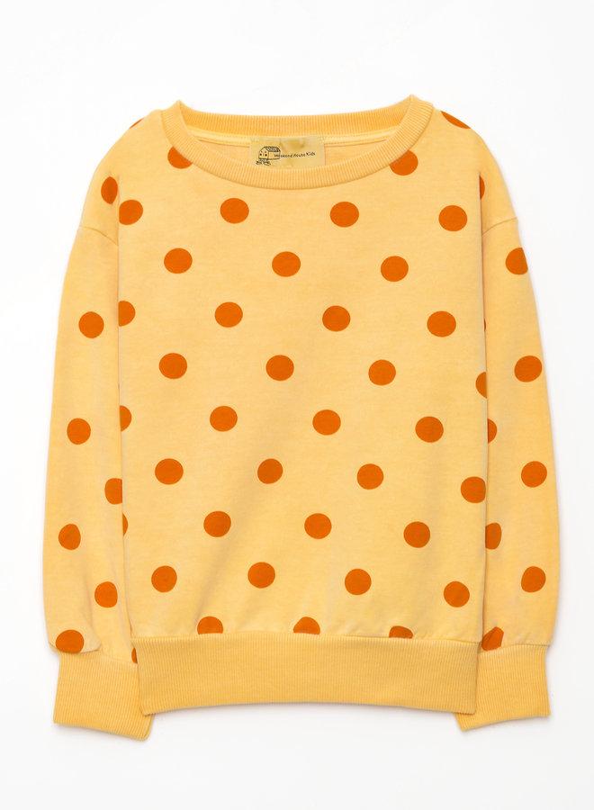 Weekend House Kids dots sweatshirt