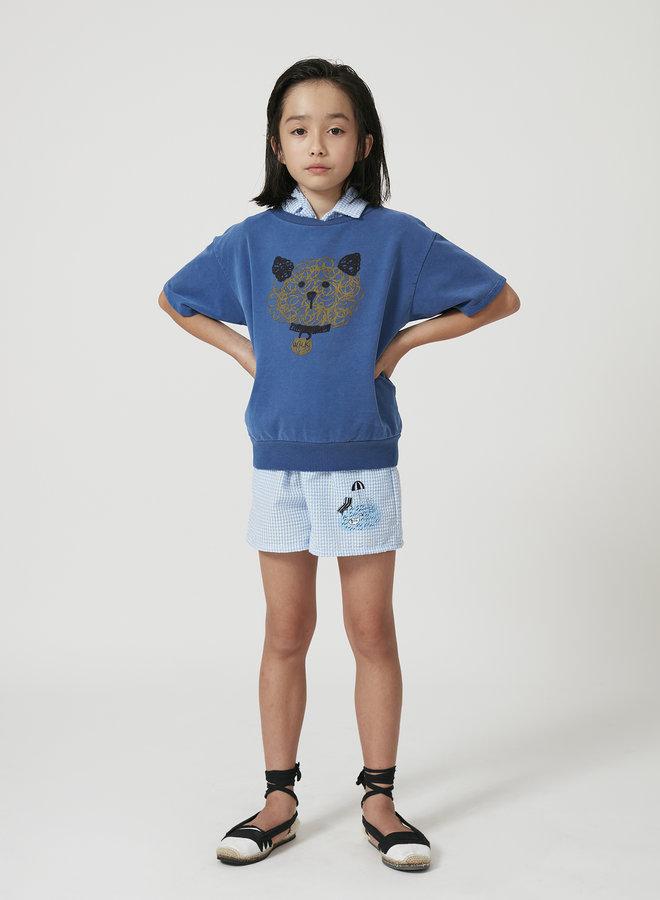 Weekend House Kids dog short sweatshirt