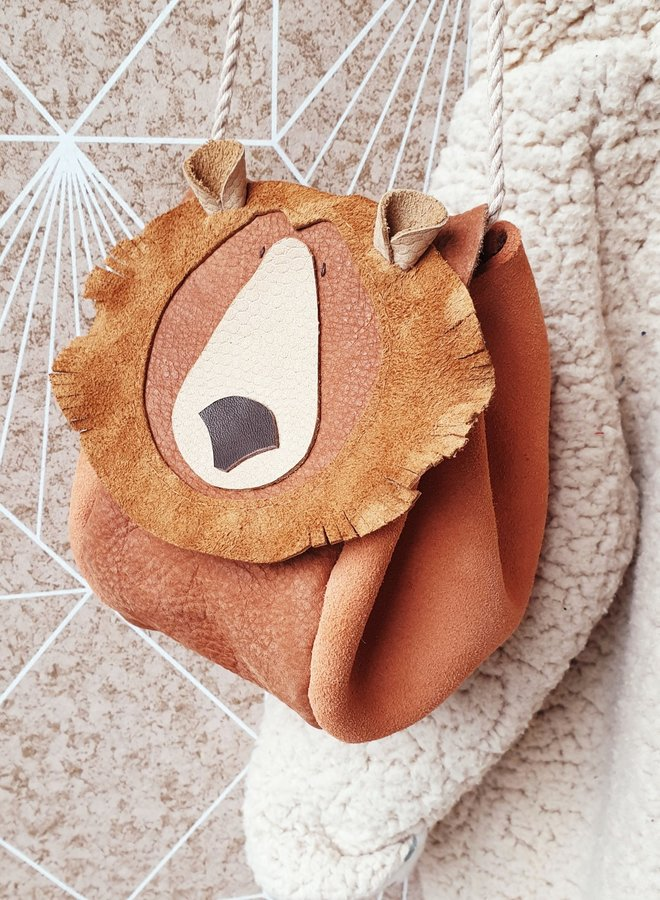 Atelier Ovive Grizzly bear bag rust/peach