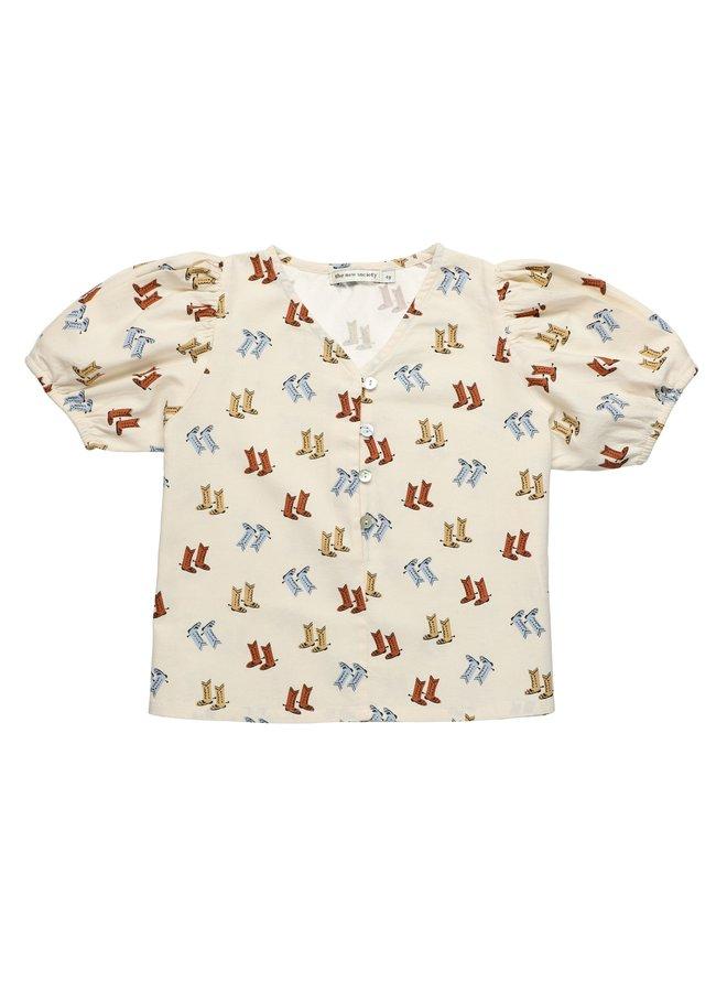The New Society Olivia eleonora blouse