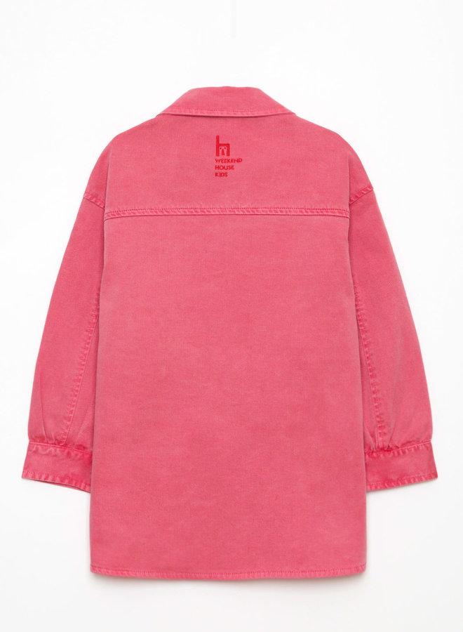Weekend House Kids pink red jacket