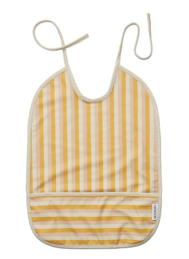 Liewood slab Stripe peach, sandy, yellow mellow