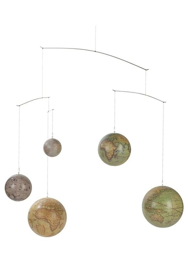 Authentic Models Globes mobile