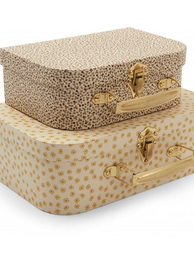 Konges Slojd koffersetje buttercup yellow