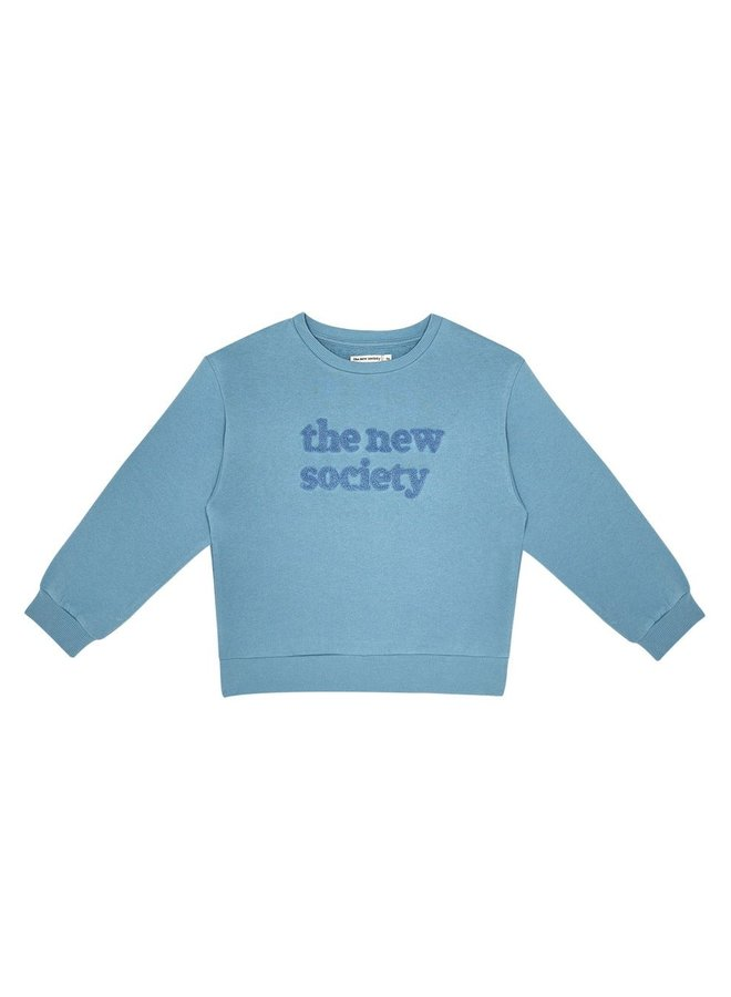 The New Society sweater Deep blue