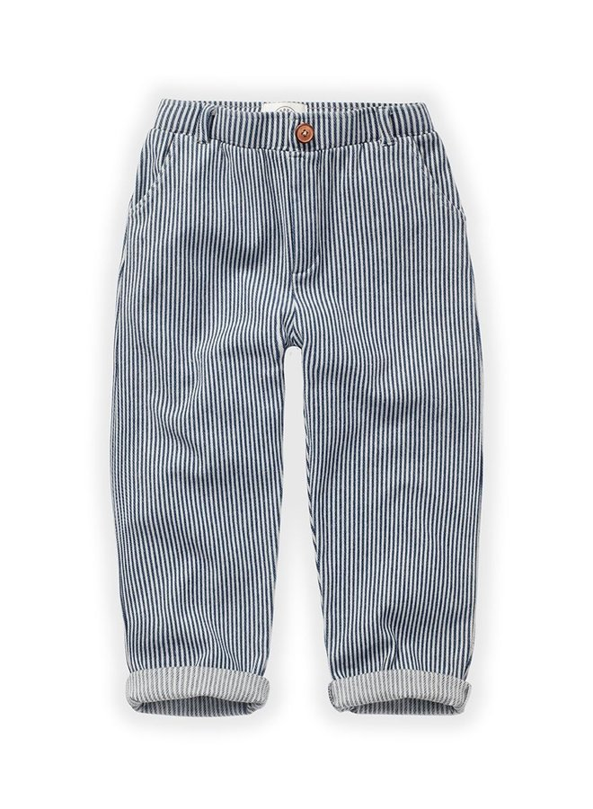 Sproet & Sprout Chino Pants Denim Stripe
