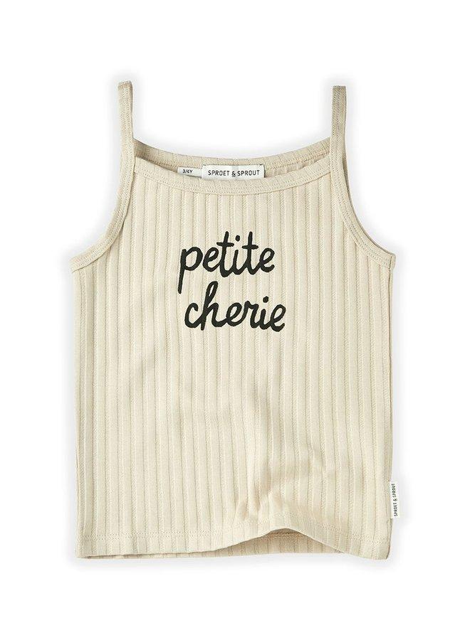 Sproet & Sprout Tanktop Rib Petite Cherie