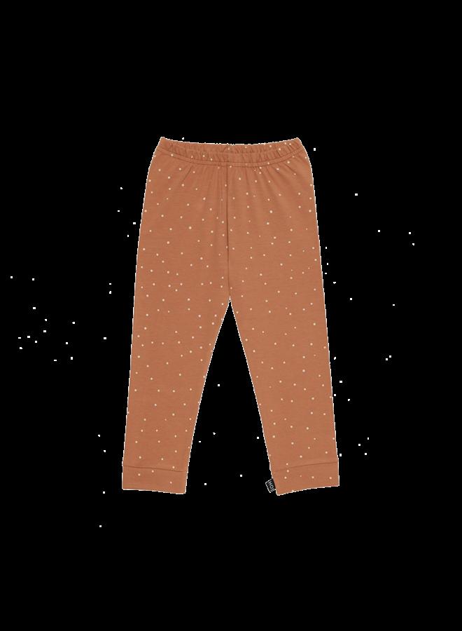 House of Jamie - Legging Burnt Ginger Dots