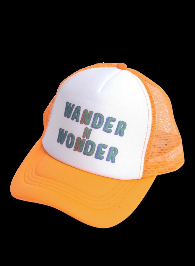 Wander & Wonder trucker cap orange