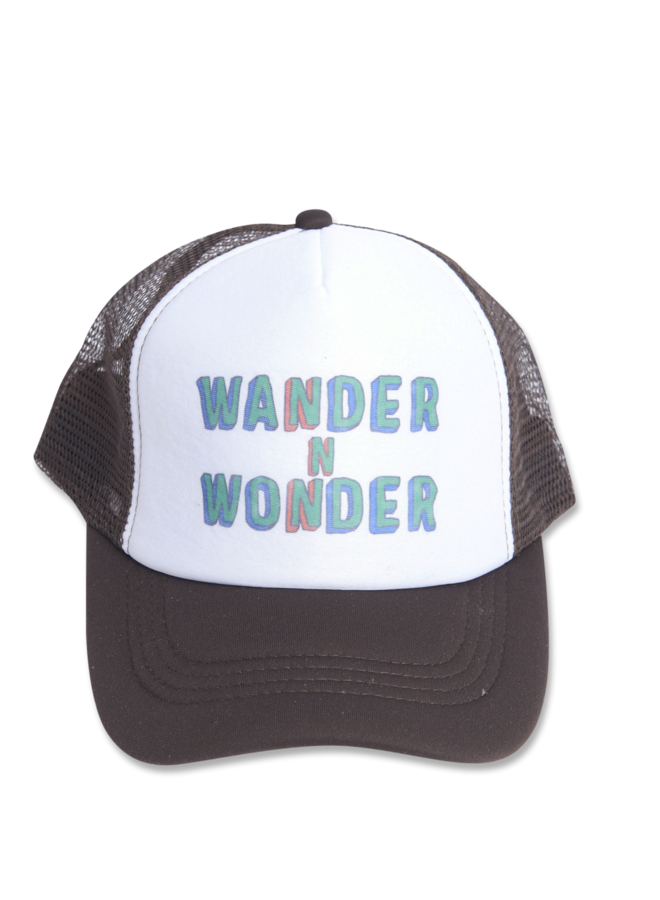 Wander & Wonder trucker cap brown