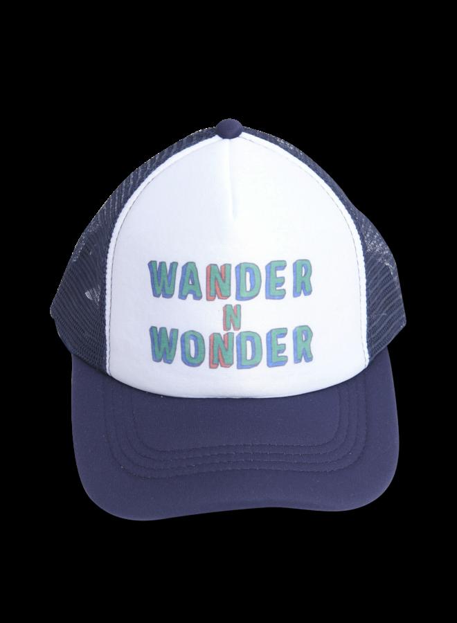 Wander & Wonder trucker cap navy