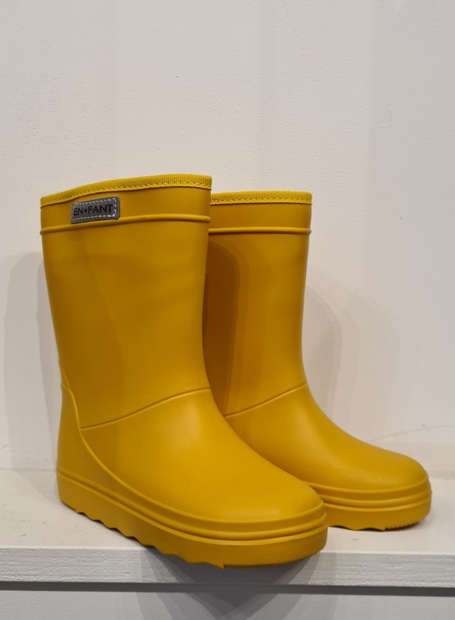 Enfant rubber rainboots nugget gold