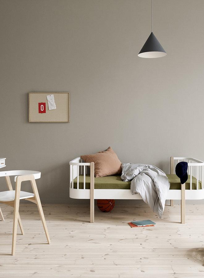 Oliver Furniture Wood original junior bed white/oak