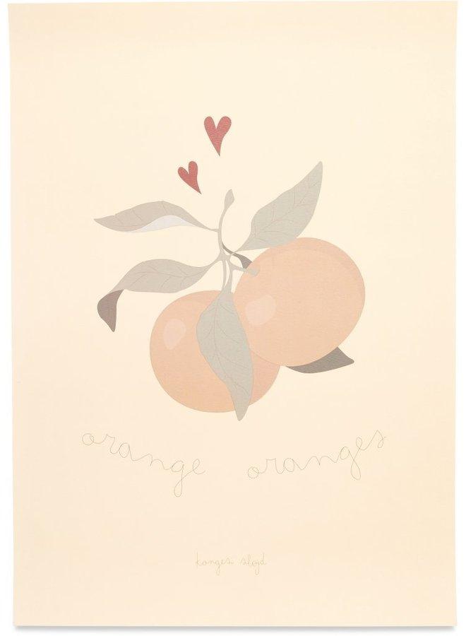 Konges Slojd - Poster Orange orange