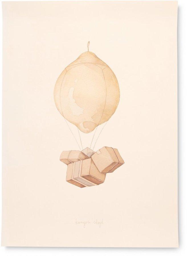 Konges Slojd - Poster air balloon