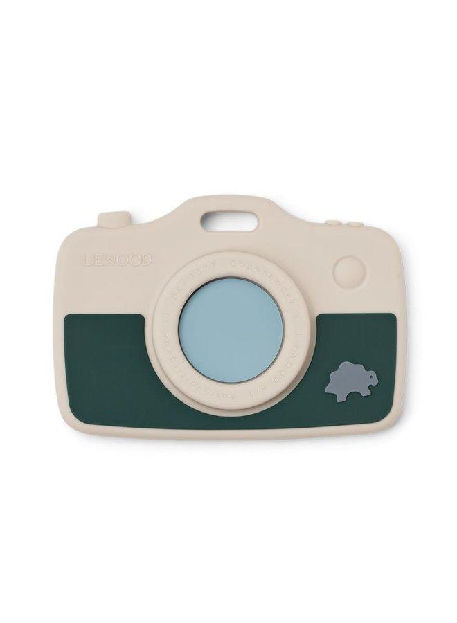 Liewood - Steven Camera Dino sandy/garden green mix