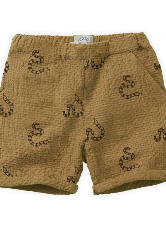 Sproet & Sprout Short Snake Print