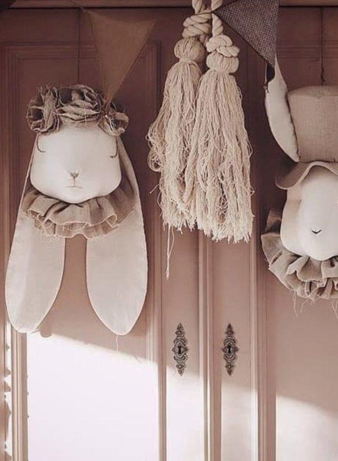 Love Me Decoration - Rabbit Powder Flowers