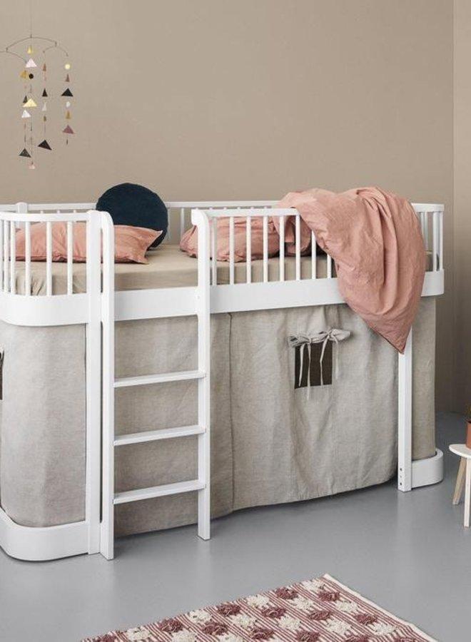 Oliver Furniture Wood original low loft bed white