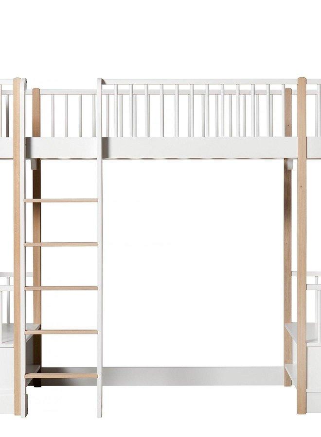 Oliver Furniture Wood original loft bed white/oak