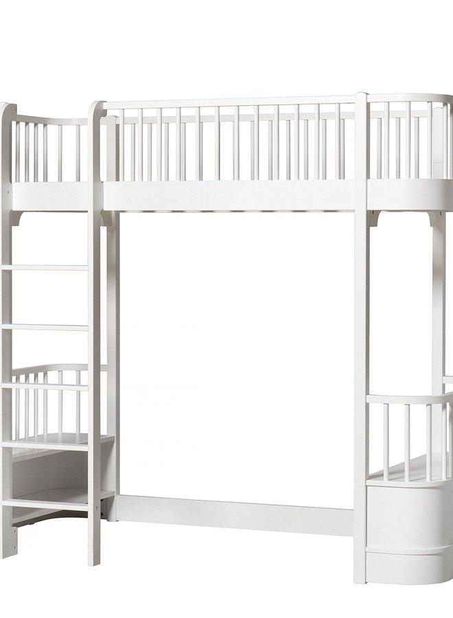 Oliver Furniture Wood original loft bed white