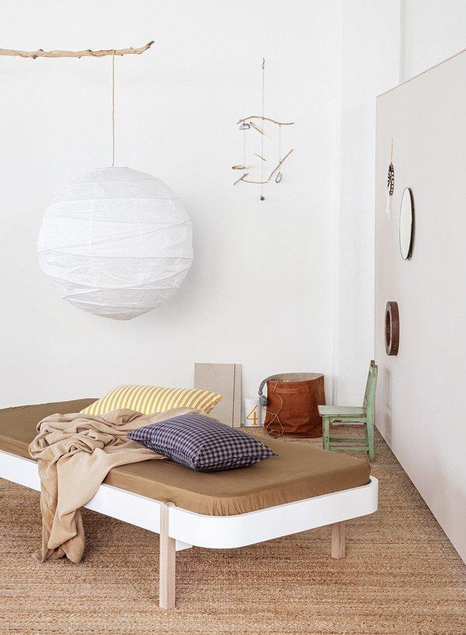 Oliver Furniture Wood lounger 90 white/oak